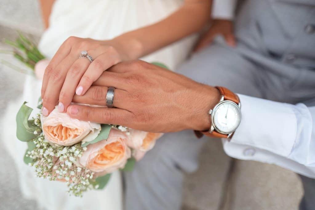 Unterhaltszahlungen Scheidung ohne Rosenkrieg, braut, paar, bräutigam