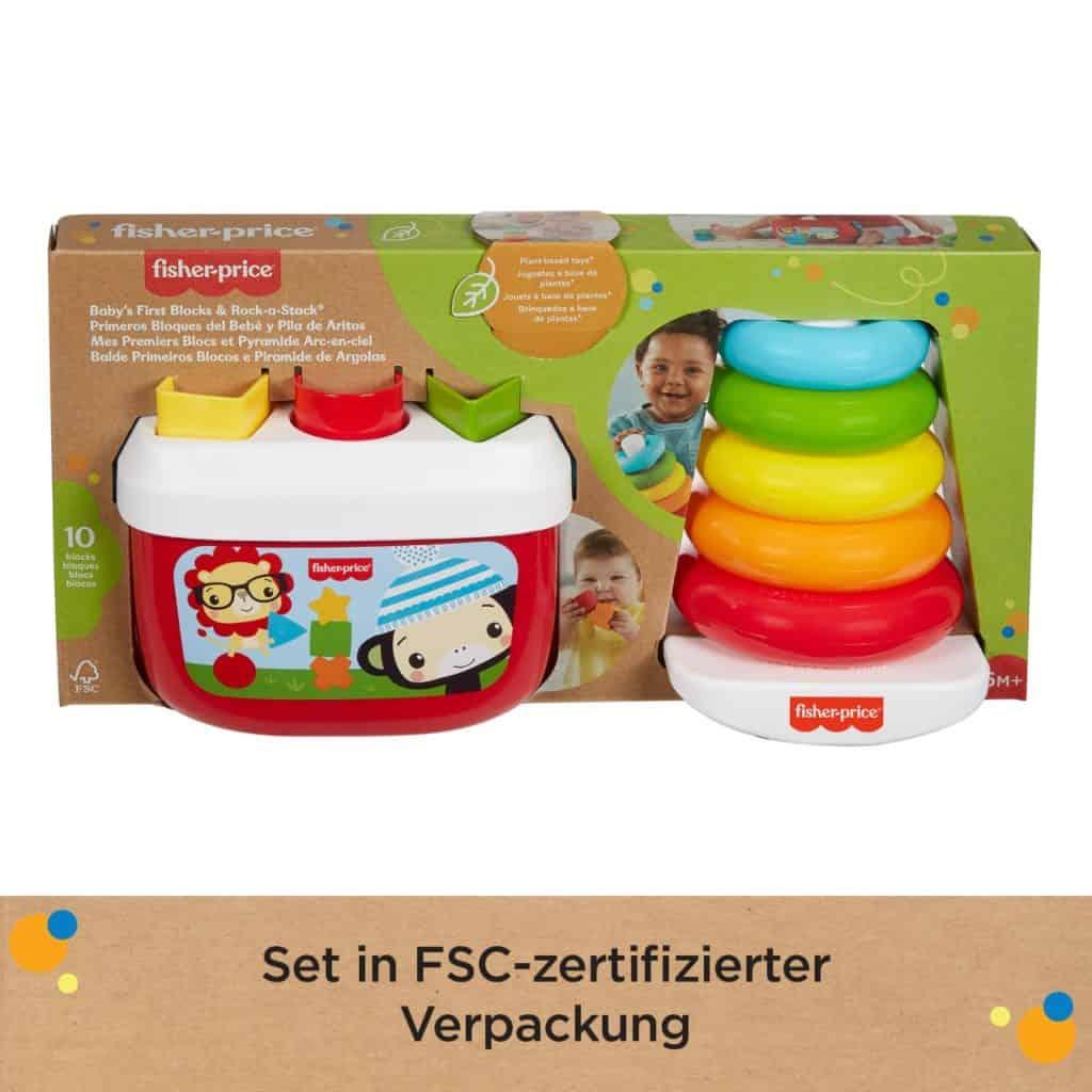 Eco Stapel- und Sortier-Geschenkset in FSC-zertifizierter Verpackung