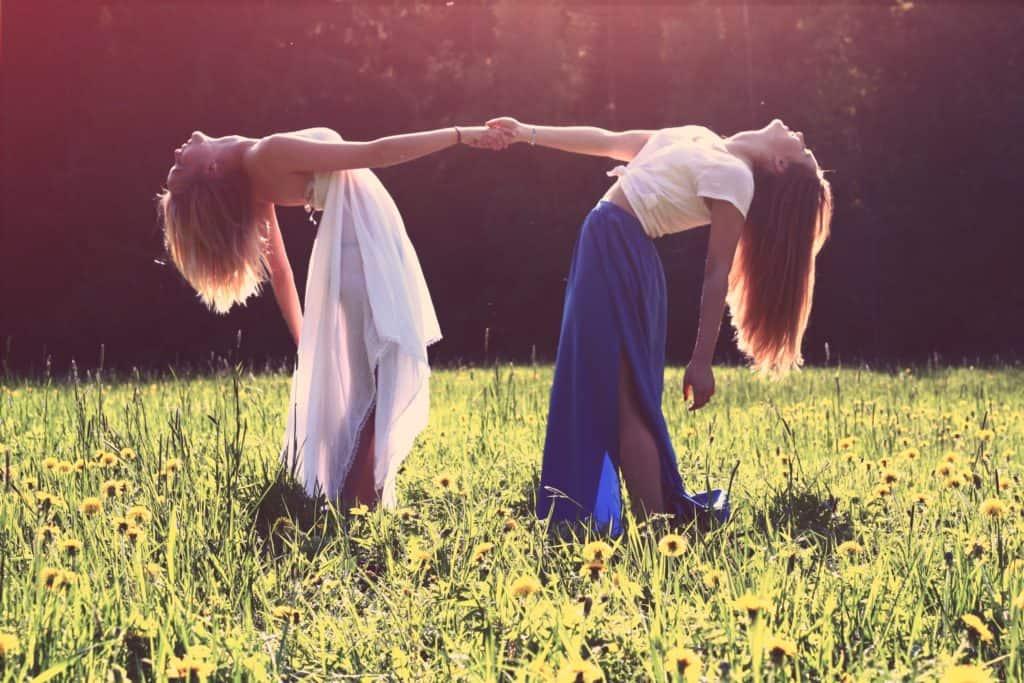 mädchen, lesben, beste freunde