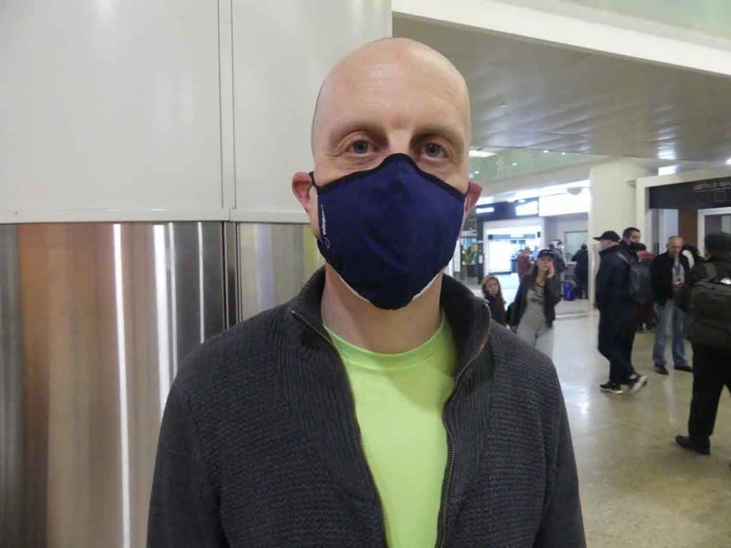 Impfreise Russland nach Moskau/Russland Software-Entwickler Uwe Keim