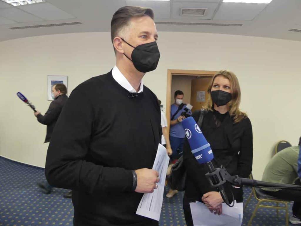 Impfreise Russland nach Moskau/Russland Anwalt H.G. Pinkernell und seine Gattin