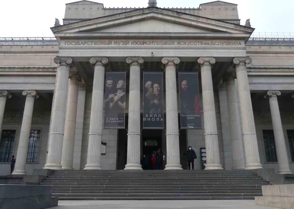 Impfreise nach Moskau/Russland Das Puschkin-Museum