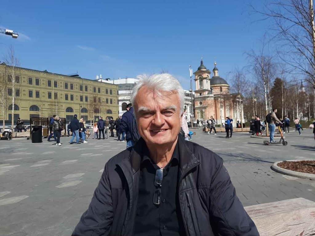Impfreise nach Moskau/Russland Hans Blank vom Reiseunternehmen world visitor
