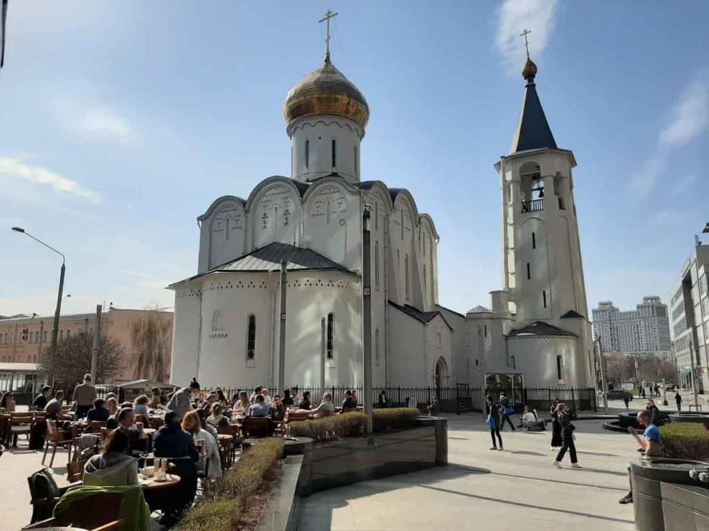 Imfreise nach Moskau - Alltag in Moskau