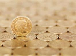 Kredit aufnehmen, geschäft, bargeld, münze