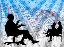 analyse zahlen geschäftsleute besprechung banken