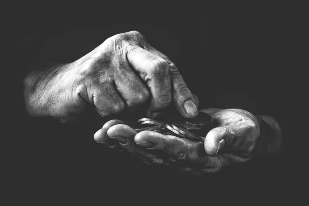Hartz IV  AKTUELL 2021, armut, schwarz und weiß, emotion