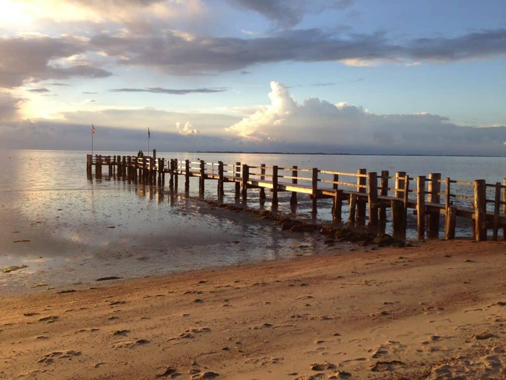föhr, strand, wolken