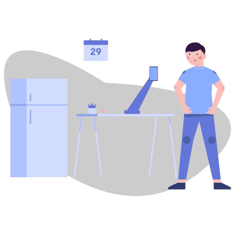 Damit Arbeit nicht krank macht – höhenverstellbarer Schreibtisch kostenlos?