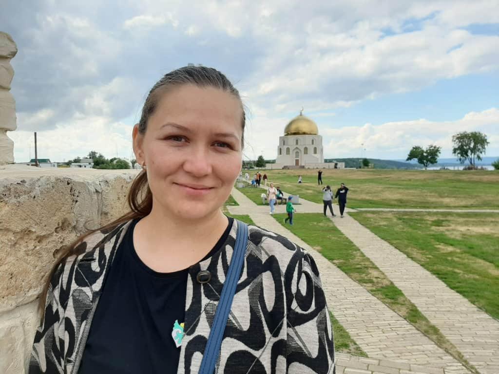 Die tatarische Reiseführerin Eleonore