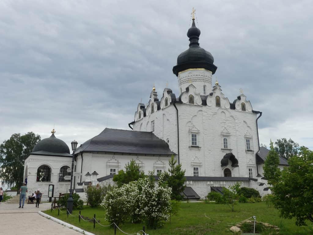 Maria-Verkündigungs-Kathedrale auf der Halbinsel Swijaschsk