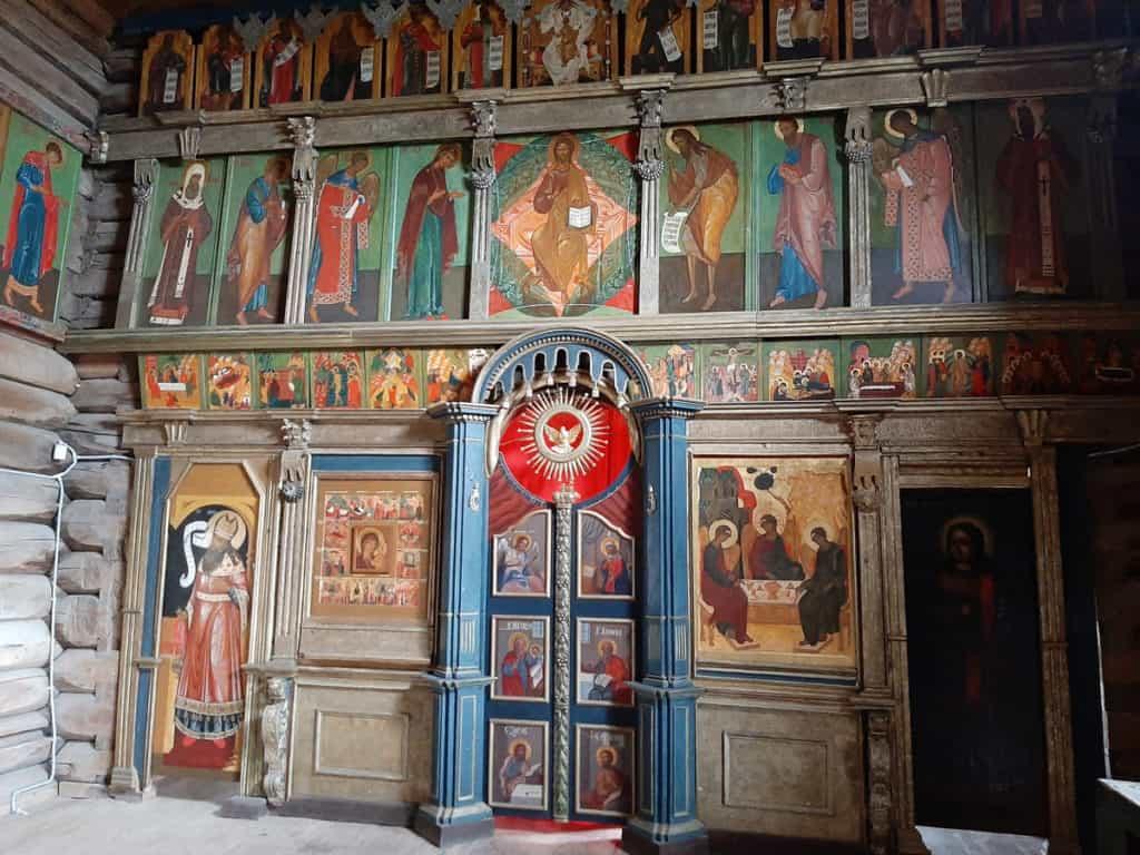 Ikonostas der Dreifaltigkeitskirche