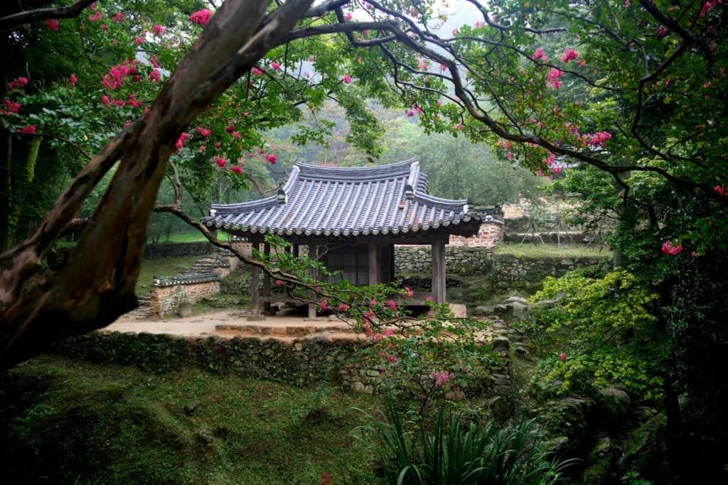Korea Garten, Symbolbild