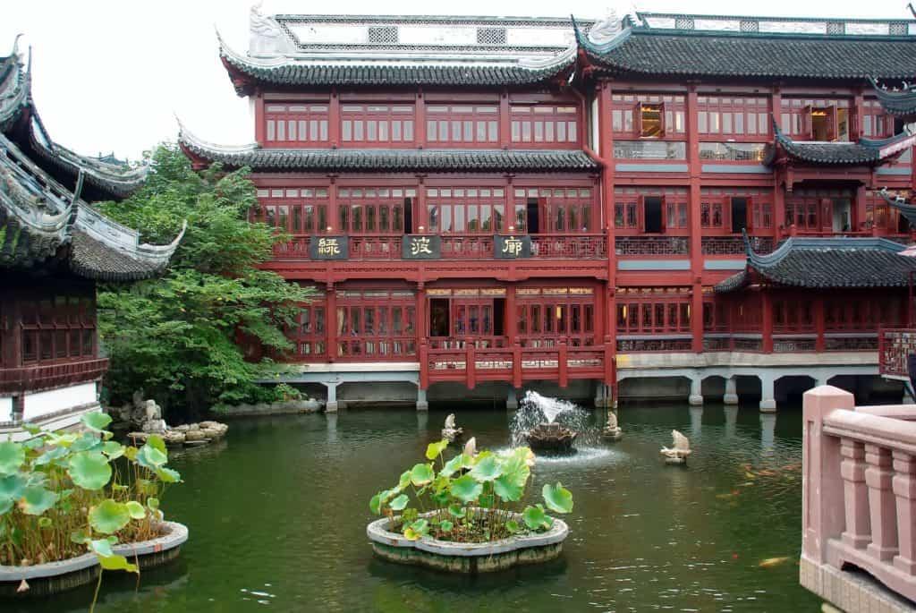 symbolbild,, china, shanghai, herrenhaus