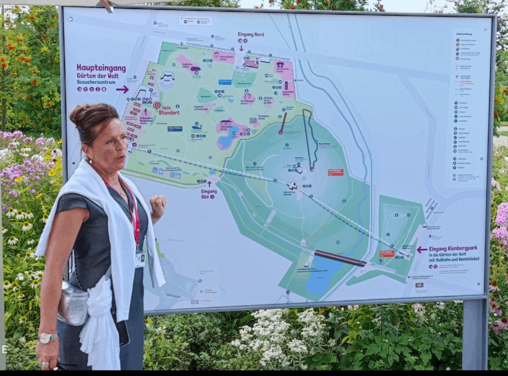 Alle Gärten im Überblick,  Beate Reuber, Parkbotschafterin Berlin, Grün Berlin GmbH
